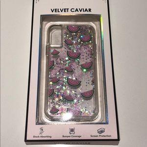 Velvet Caviar Watermelon IPhone X Screen Case